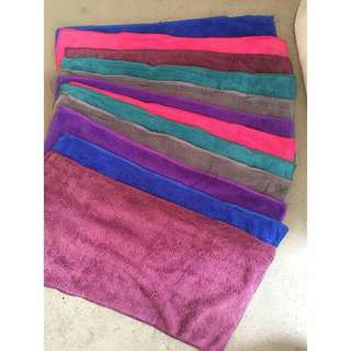 12 pieces microfiber hand towel