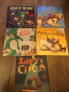 在英國購買的兒童書五本
