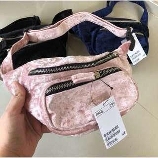 HnM Belt Bag pink
