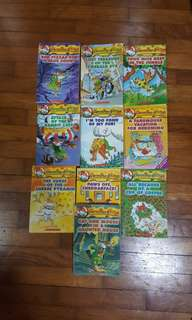 A Fabumouse Holiday for Geronimo(10 Books Collection)*New*