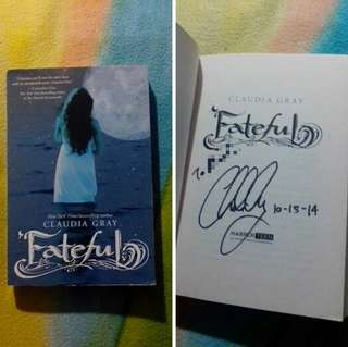 SIGNED books by CLAUDIA GRAY