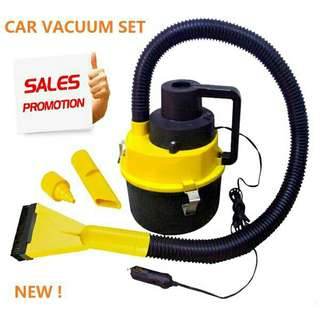 12V Wet / Dry Canister In-Car Vacuum Cleaner Caravan Vans Cleaner