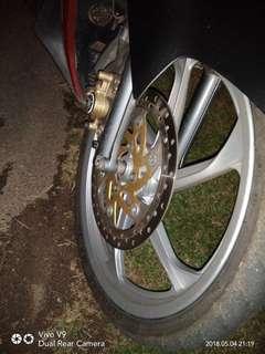 Rim moto ...silver