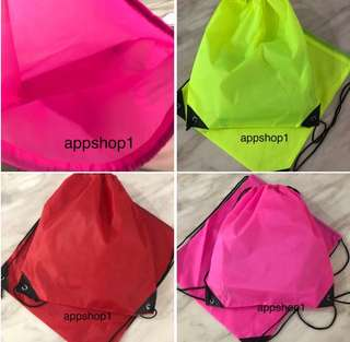 Swimming drawstring bag for children goodies favors, party goodie bag gift, goody bags packages, goodie bag