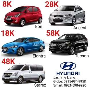 Brand New Hyundai Car For only 8k All in DP! Fast Approval