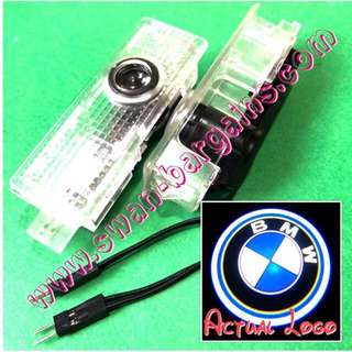 Integrated BMW Logo LED Light Ghost Shadow Projector Car Door Courtesy Welcome Greetings Lamp
