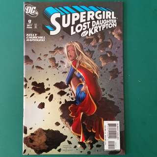 Supergirl No.9 comic