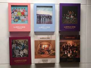 [INSTOCK] WANNA ONE official albums
