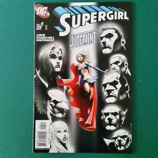 Supergirl No.4 comic