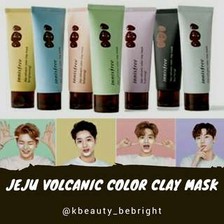 Jeju Volcanic Color Clay Mask 70ml
