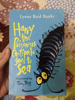 Harry the Poisonous Centipede goes to sea by Tony Ross