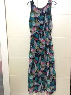 Hawaiian Long Dress