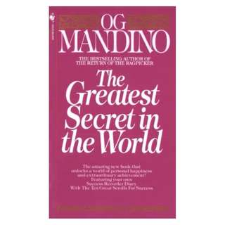 The Greatest Secret in the World Kindle Edition by Og Mandino  (Author)