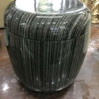 黑木紋骨灰罐