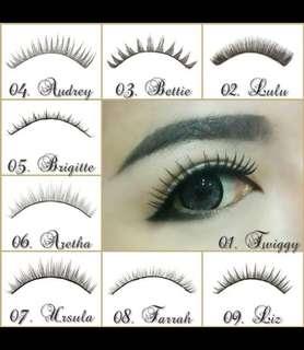 Eyelash human hair