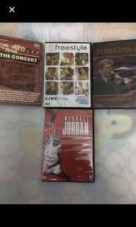 4 Original DVDs (Musical Package with Michael Jordan DVD)