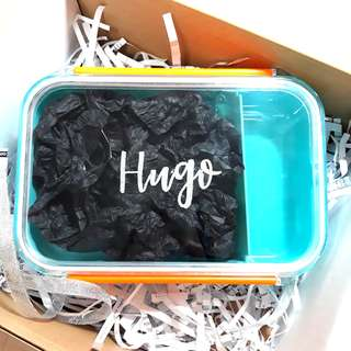 Customised Lunch Box Personalised Names Name Birthday Gift Children's Day Mother's Day Farewell Graduation Gift