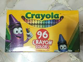 Crayola-96Crayon Colors