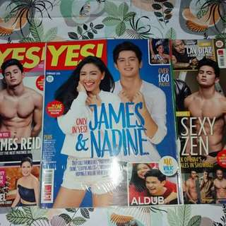 Jadine Yes Magazine Bundle