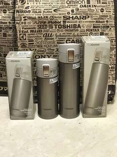 Sale Special:Rare Imported Zojirushi Mugs 360ml & 480ml (Full Inner And Outer Stainless Steel)