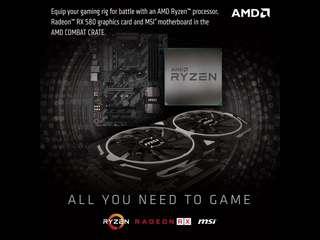 RX 580 AMD GAMING PC BELOW MSRP BUNDLE OFFER
