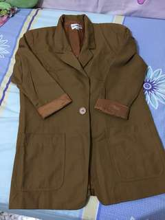 Long Brown Jacket