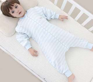 全新有機棉兩用可拆袖睡袋(包郵)4-5歲