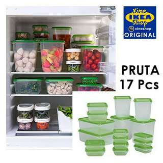 NO ONGKIR ISI 17 - IKEA PRUTA BOX KONTAINER
