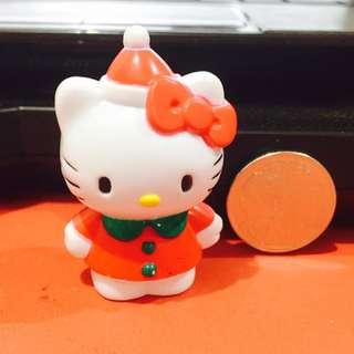 Red Hello Kitty Figure