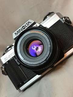 MINOLTA X370 & 45mm f2
