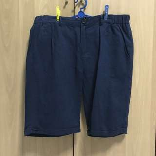 Navy Blue Bermudas/ Berms/ Shorts