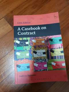 A casebook on contract