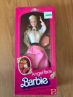 Vintage Angel Face Barbie