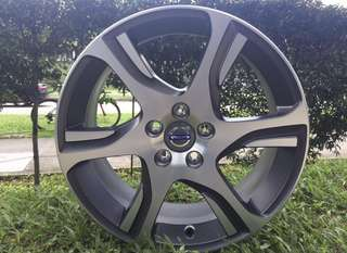 18in PCD 5-108 Original Volvo Rims On Sale