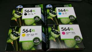 HP564XL打印機墨水,一套380蚊