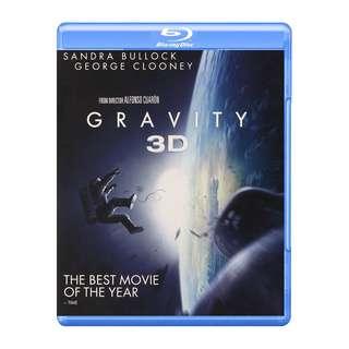 Gravity 3D Blu-ray
