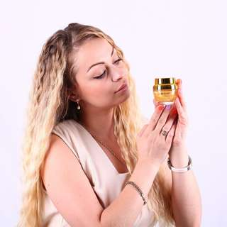 24K Gold Atom Collagen Anti-Wrinkle Facial Whitening Cream
