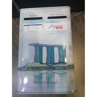 Limited Edition Singapore Post Marina Bay Sands Collectibles Coin Box Bank