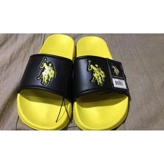 Brand new Original US POLO ASSN Slippers Size 11 Item