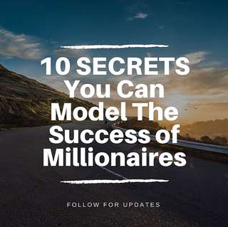🌟10 SECRETS You Can Model The Success of Millionaires🌟