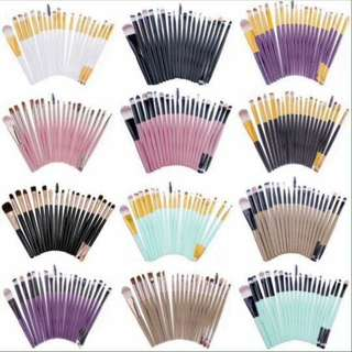 20 Pcs. Makeup Brush Set