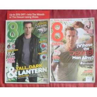 Ryan reynolds 8 days Magazine