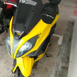 2015 Kymco Xciting 400I ABS