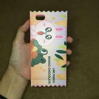 iPhone 6 case Li*e friends mango chocolate