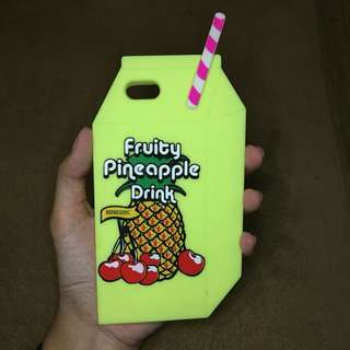 iPhone 5S case fruity pineapple