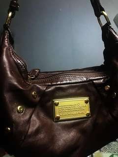Salad leather handbag