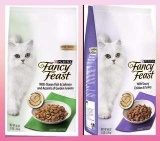 Fancy Feast Dry Cat Food 1.36kg Promotion 10 for $120