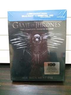 DVD- Game of Thrones (the complete fourth season)