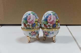 Vintage Printed Eggs (set of 2)