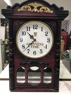 Vintage Guinness Clock